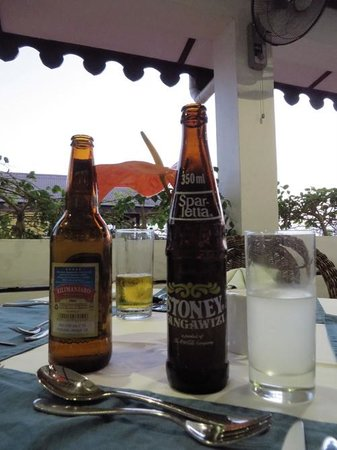 Terrace Restaurant at Maru Maru: view from terrace restaurant