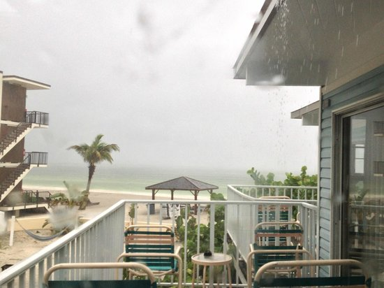 Coquina On The Beach: Rainy afternoon
