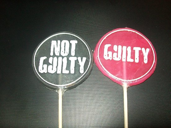 The Edinburgh Dungeon : Lollies you can buy