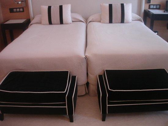 Gran Hotel Sardinero: Twin bed room