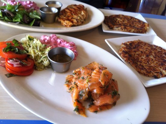 Beaver Choice: Gravlax and the Stuffed Chicken