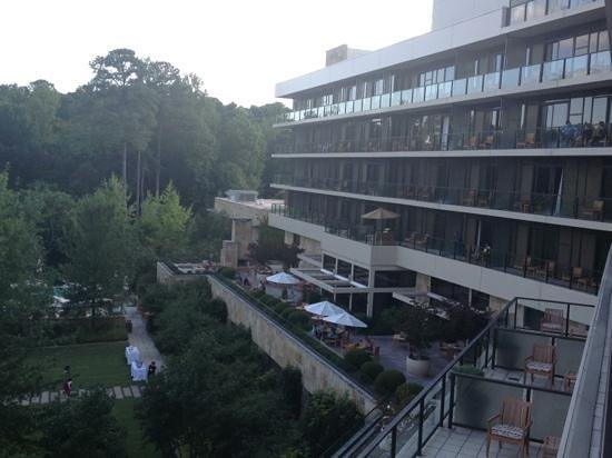 The Umstead Hotel and Spa : from balcony