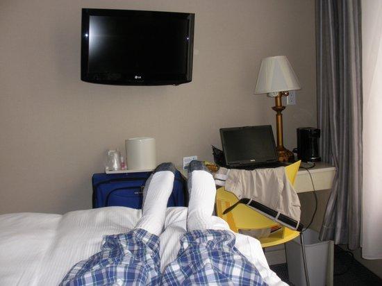 SoHo Garden Hotel: Small but cozy