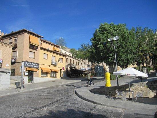 Restaurante Museo de Productos de Castilla-La Mancha: Vista del restaurante y su entorno.