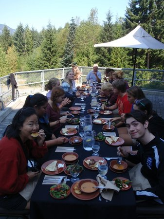Squamish Lil'wat Cultural Centre: The buffet lunch is superb!