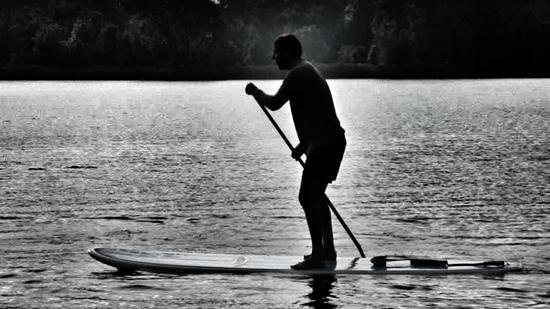 Paddleboard Orlando : early morning paddleboarding.