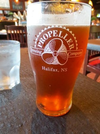 Waterfront Warehouse Restaurant: Delicious ale at the Waterfront Warehouse