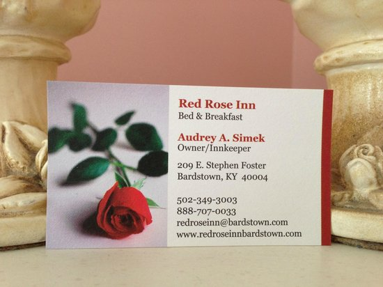 Red Rose Inn Bed and Breakfast: Info