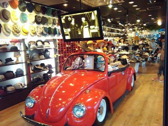 Tempozan Harbor Village : Hat shop
