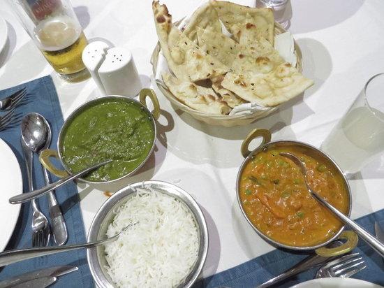 Terrace Restaurant at Maru Maru: Vegetable curry