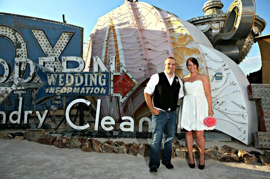 Scenic Las Vegas Weddings Chapel: Neon Boneyard