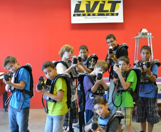 Lehigh Valley Laser Tag: Boys had a great time
