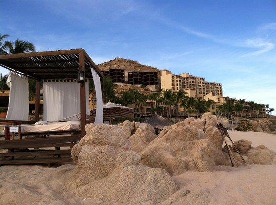 Grand Fiesta Americana Los Cabos All Inclusive Golf & Spa: Spa services on the beach