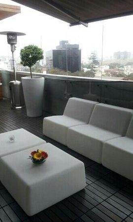 NM Lima Hotel: la terraza
