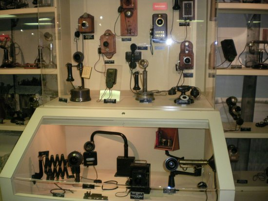 Heritage Center of Dickinson County : Just a SMALL section of the phones
