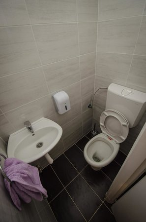 Main Street Hostel: Shared bathroom