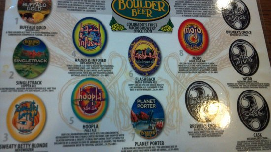 Boulder Beer Company: Boulder Beers