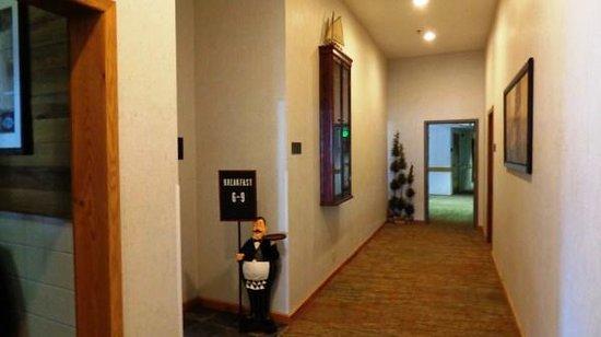 BEST WESTERN Prineville Inn: Hallway