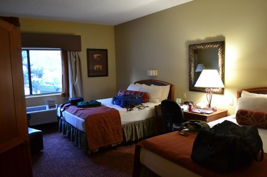 Best Western Plus Inn Of Williams: Two Queen bed room