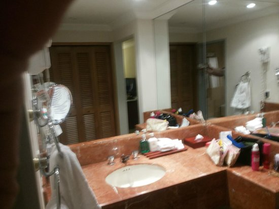 Bogota Plaza Summit Hotel: Pia do lavabo