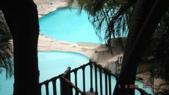 Marriott Tuxtla Gutierrez Hotel: vista de la alberca