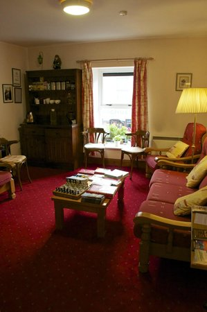 Virginia's Guesthouse Kenmare: Library