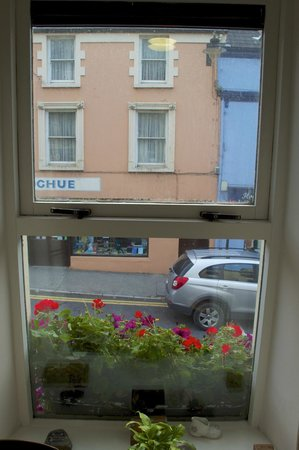 Virginia's Guesthouse Kenmare: View onto Street