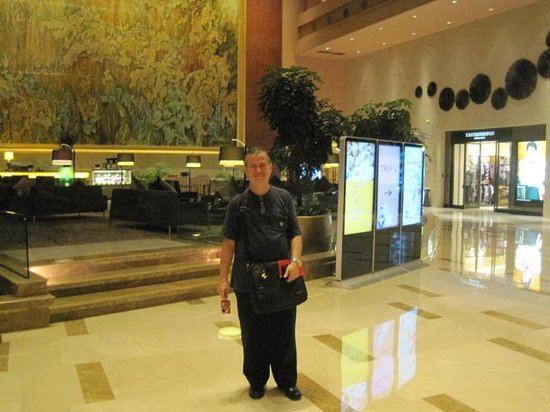Marco Polo Jinjiang: Inside the hotel's grand lobby