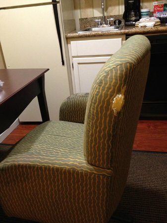 Homewood Suites by Hilton San Jose Airport-Silicon Valley: guess they're short on chairs