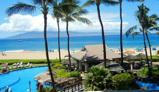 Sheraton Maui Resort & Spa: View of Ocean was Impressive.