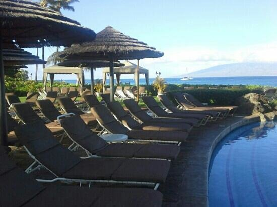 Sheraton Maui Resort & Spa: pool time great area for kids & adults