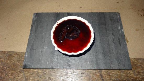 Ceraldi: Dessert - Vanilla bean panna cotta, fig umbriaco