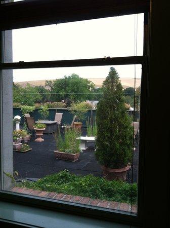 The Weinhard Hotel : View onto rooftop garden