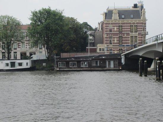 Aussicht mit fr hst ck foto di houseboat little amstel for Houseboat amsterdam prezzi
