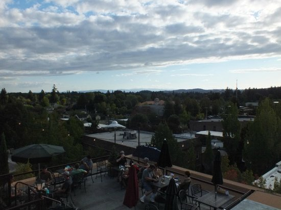 McMenamins Hotel Oregon: View from the rooftop bar
