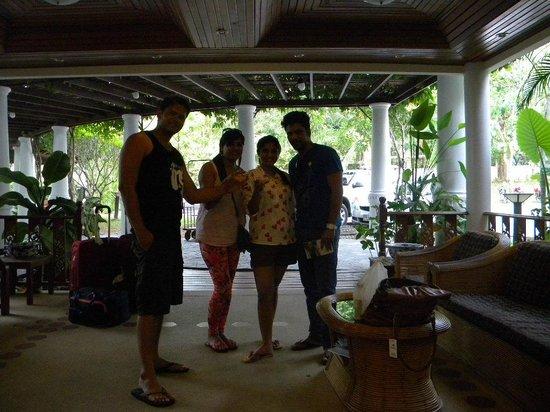 Thai Ayodhya Villas & Spa: Hotel Reception