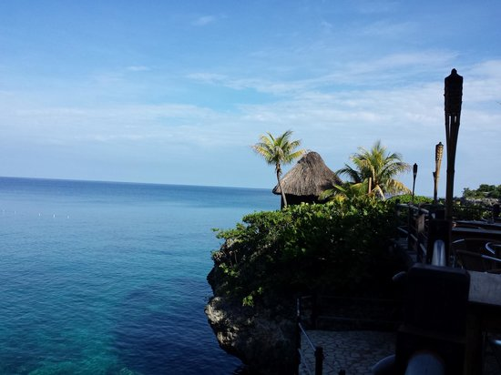 Rockhouse Hotel: view from the restaurant