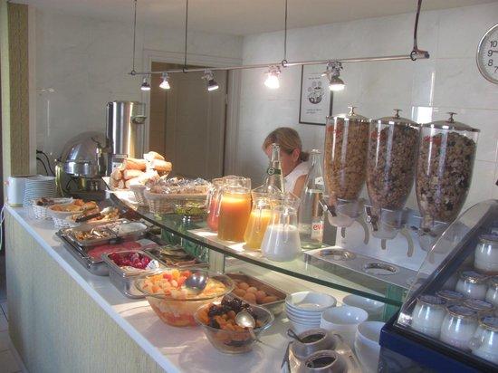 Best Western Alba Hotel: Desayuno: muy completo.