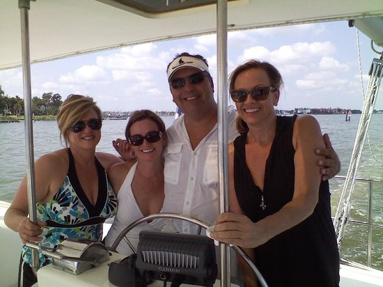 Sailaway Clear Lake Charters: Me and my friends w/ Captain Matt