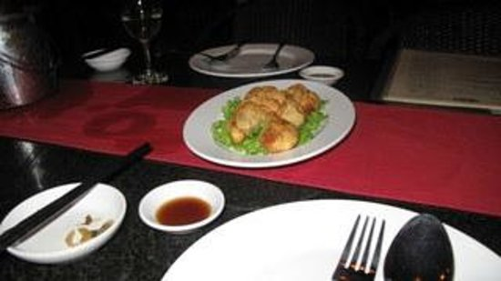 L'Orchidee Restaurant: Fried dumplings.