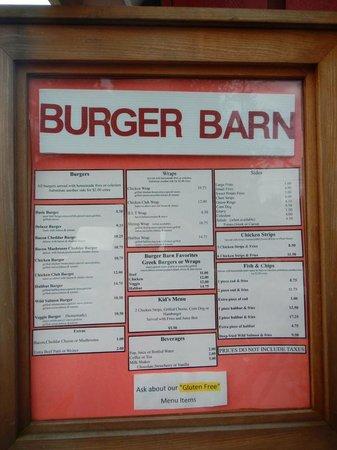Burger Barn Sointula Restaurant Reviews Phone Number