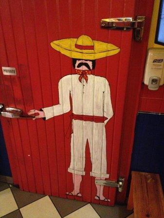 Ahora Restaurant Mexicain: paint detail