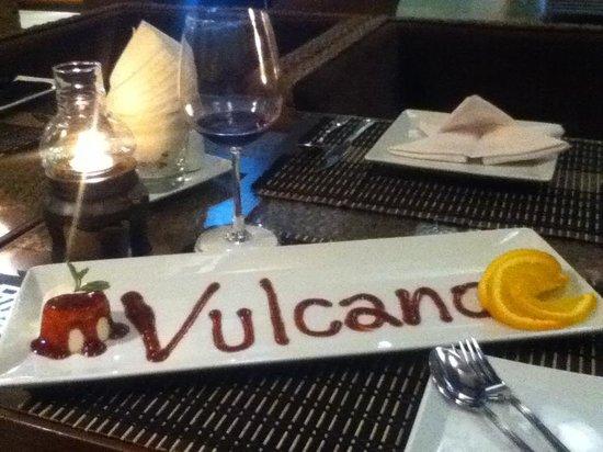 Vulcano Hotel Chiang Mai: Thoughtful Inspired Italian Panna Cotta!