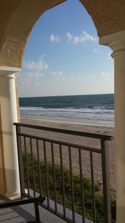 The Lodge and Club at Ponte Vedra Beach: Ocean front view from balcony of room 421