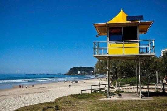 Wyuna Beachfront Holiday Apartments: Patrolled Beaches