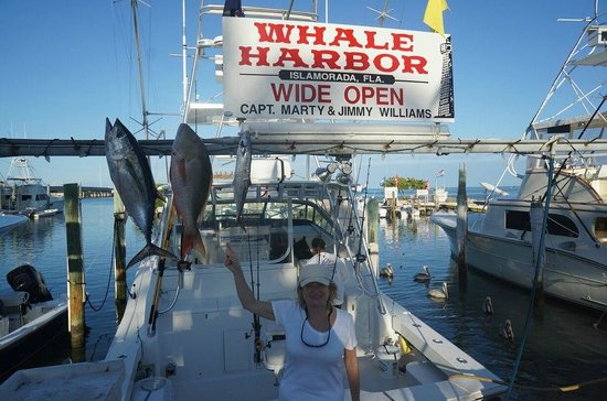 Wide Open Sport Fishing: Great day on the water