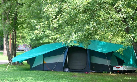 Greenbrier Campground: tent camping