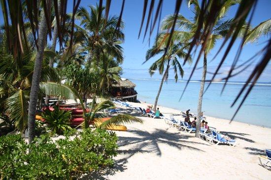 The Rarotongan Beach Resort & Spa : View from Grand Beachfront Suite