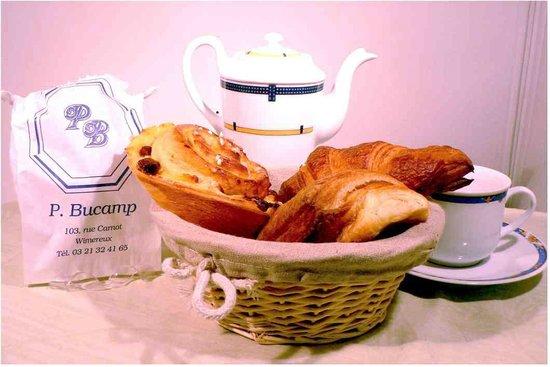 Boulangerie Patisserie bucamp : Viennoiseries de la pâtisserie Bucamp