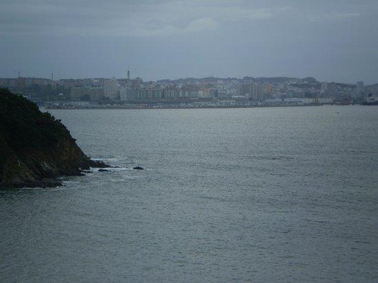 Hotel Portocobo: vistas